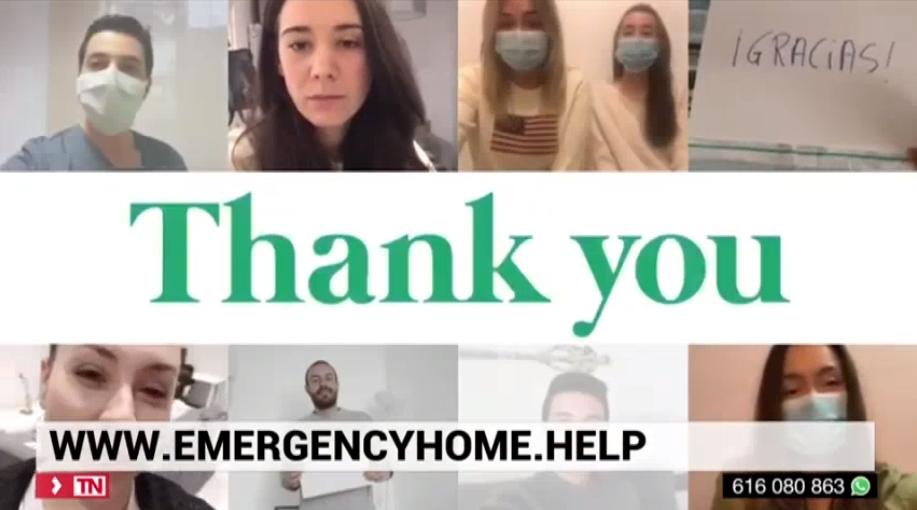 TeleMadrid: Una web solidaria para buscar piso al personal sanitario o de emergencias