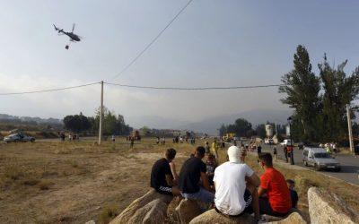 Casas gratuitas a disposición de los afectados por el incendio de Navalacruz